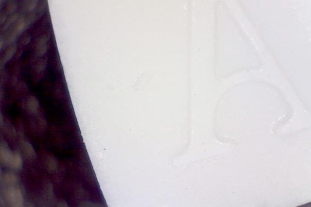 Mint under microscope
