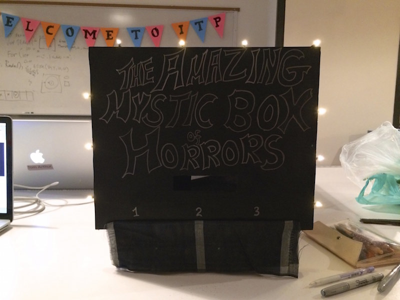 Amazing Mystic Box of Horrors
